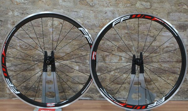 2018 New Standard Weight Ffwd 38mm Clincher Bike Wheelset 700C Carbon Fiber Road Racing Bicycle Wheels