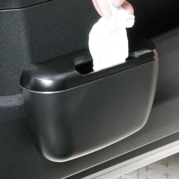 Cestino della spazzatura della spazzatura Scatola della spazzatura automatica Pattumiera della spazzatura Organizer per auto Accessori per auto Set di contenitori per la schiena Contenitore per la spazzatura Can secchio