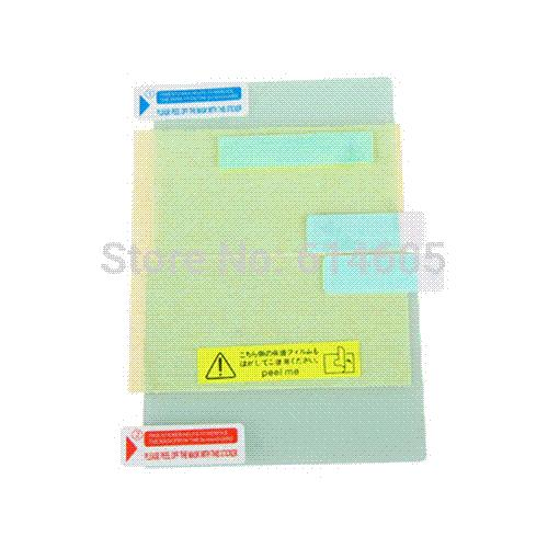 3 X Ultra Clear Screen Guard Film LCD Protector for Nintendo DSi protector face protector hand