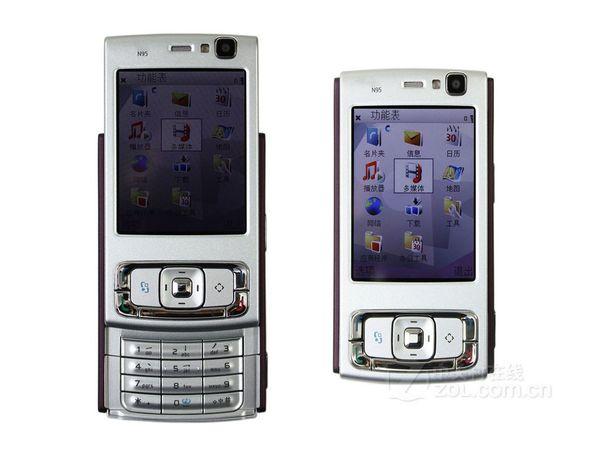 5MP Slider unlocked phone Camera sim card 2.6 inch Unlocked smart phone N95 cell phone with 3G nework WIFI GPS Bluetooth