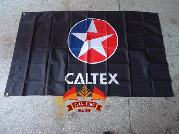 Best Quality Caltex Flag For Car Show Polyester CmCan - Car show flags