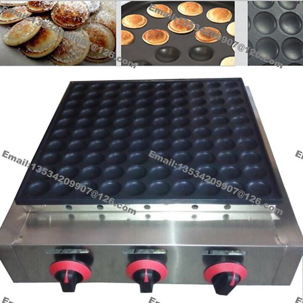 Nouveau 100 pcs Utilisation Commerciale Non-bâton De Gaz De GPL Mini Crêpe Hollandaise Poffertje Machine Maker Baker Moule Pan