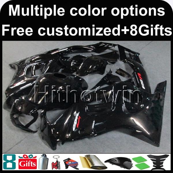 23colors + 8Gifts Body Kit preto ABS Carenagem Para honda CBR600 1995-1996 F3 95 96 Aftermarket capa Da Motocicleta