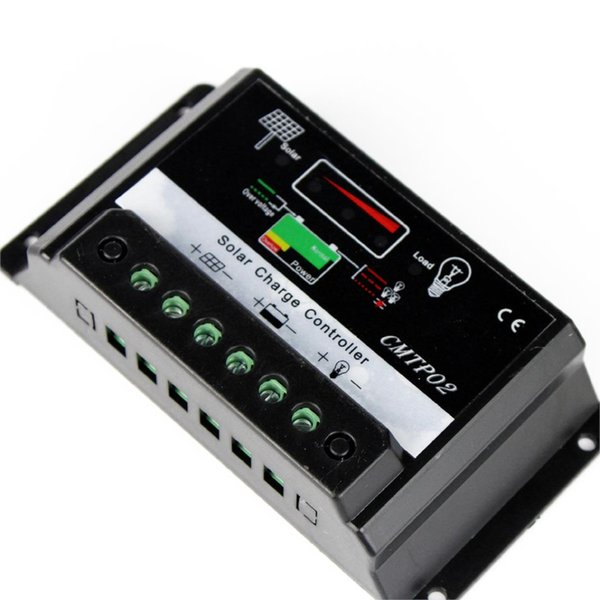 Wholesale- High Quality 10A MPPT Solar Battery Regulator Charge Controller 12V 24V Auto Switch M00 PK 2015 NEW