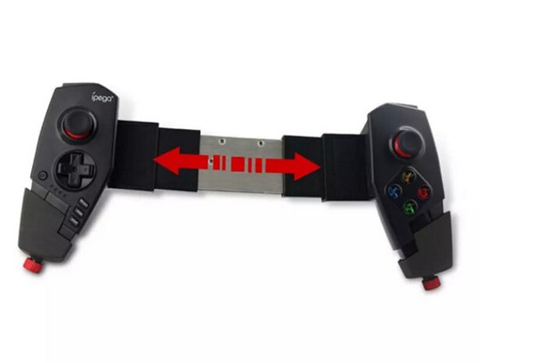 High Quality IPEGA PG - 9055 Red Spider Wireless Bluetooth Gamepad Telescopic Game Controller Gaming Joystick For Android IOS Tablet PC