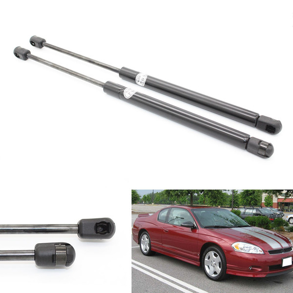 2pcs Trunk Auto Gas Spring Struts Lift Support For Chevrolet Monte Carlo 1999-2000 2001 2002 2003 2004 2005-2007 With Spoiler 11.02 inches