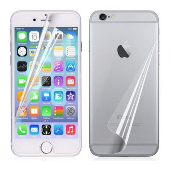 New Front Back High Clear Glossy Anti Scratch Screen Protector Film Cover For Apple iphone 5 5s / 6 6s / 6 6s plus