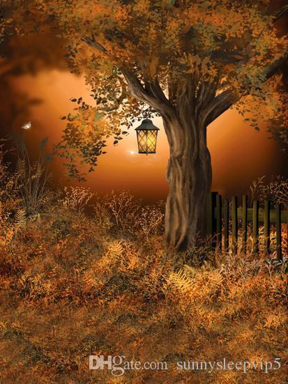 Halloween Wedding Bambini Baby Photography Studio Sfondo Scenic Background Vinile per un servizio fotografico