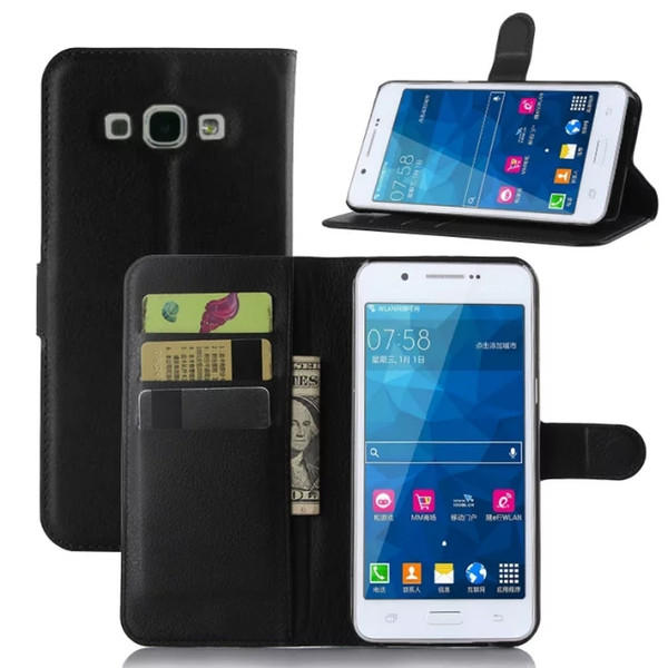 free shipping 26336 7c17e Wallet Leather Case For Samsung Galaxy On 5 On 5 Pro ,On7 Pro , A5  ,A7,A9,C5 C7case Support Holder Slot Card Money Pouch Cover Case /UP Phones  Cases ...