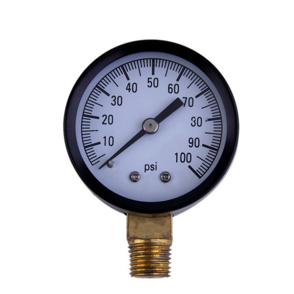 "best selling Wholesale-2016 New 1pcs Simmons 1305 0-100 PSI 1 4"" Well Pump Water Pressure Gauge TS50-100PSI high quality"