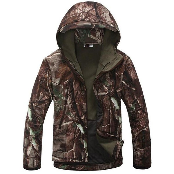 TAD V4.0 Lurker Shark Skin Soft Shell Military OutdoorTactical Jacket Waterproof Windbreaker Camouflage Army OutHunting Clothes