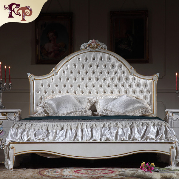 2019 Antique Luxury Bedroom Furniture French Rococo Bed Solid Wood Carved  Furniture With Gold Leaf Gilding From Fpfurniturecn, $1090.46 | DHgate.Com