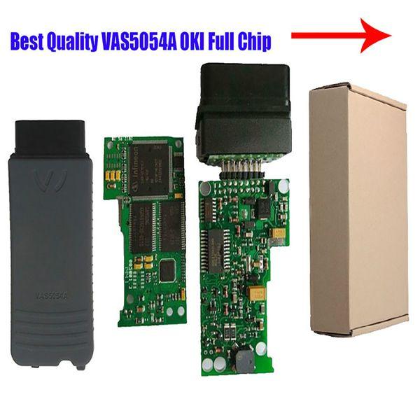 best selling Wholesale-Preferential price V2.0 VAS 5054A V2.2.4 Bluetooth Scanner for VAS 5054 VW 5054 with OKI Chip