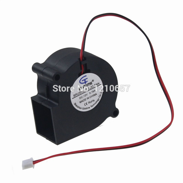 Wholesale- 5 Pieces LOT Gdstime DC 12V 2Pin 60mm 6cm 60x28mm 6028s Small Cooling Centrifugal Blower Fan