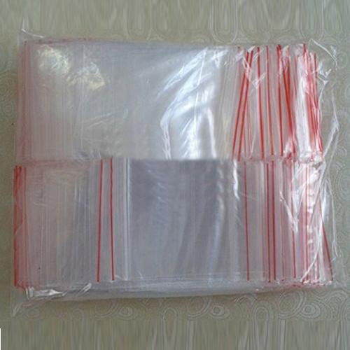 Venta al por mayor- HGHO-200PCS 5X7CM Bolsas con cierre de cremallera Bolsa de plástico transparente Recierable Bolsas de plástico pequeñas Bolsas de regalo Bolsas de embalaje