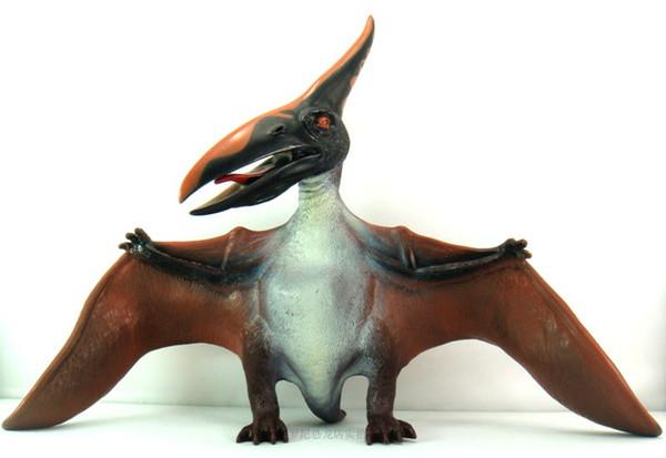 Envío gratis El nuevo software de comercio exterior modelos de dinosaurios Juguetes de dinosaurios Grandes pterosaurios regalo de cumpleaños Envergadura 52 cm