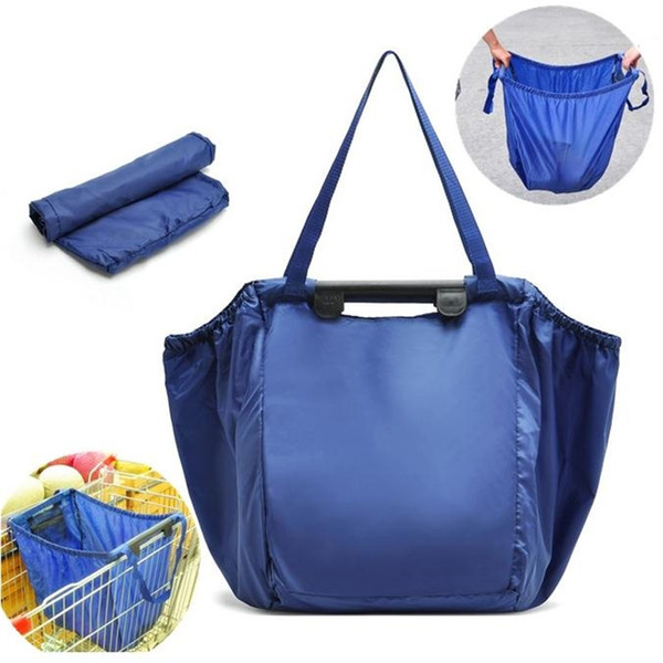 New Grocery Bag Large Capacity Travel Receive Bag Folding ...