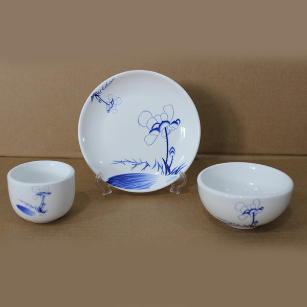 Chinese Style Ceramic Tableware Ceramic Dinnerware, High Temperature ...