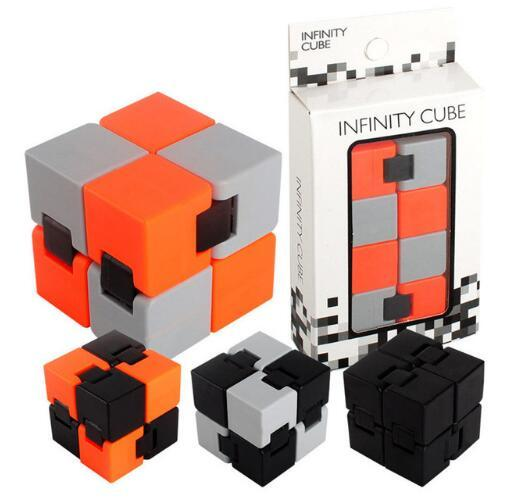 best selling Infinity Cube Fidget Cube Novelty Antistress Infinite Kids Adults Decompression Toy for Autism&ADHD Anti Stress Gift