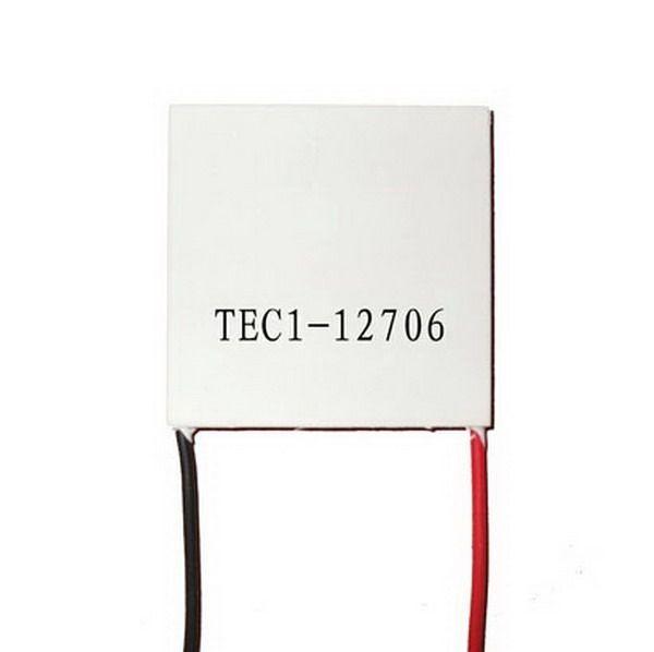 best selling TEC1-12706 12V Heatsink Thermoelectric Cooler Cooling Peltier Plate Module B00127 BARD