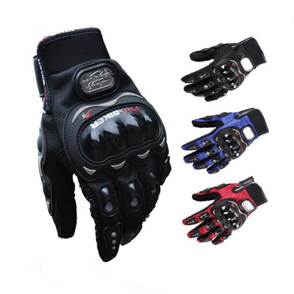 Motorcycle Full Finger Glove Protective Motocross Racing Gloves Bike Bicycle cycling Luvas Da Motocicleta on sale