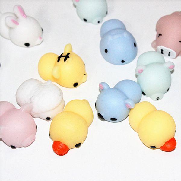 Japon Kawaii Mignon Animal Chat Panda Chien Ours Joint Pinceau Cadeau Créatif Décompression Évent Anti Stress Ball Nouveauté Jouet