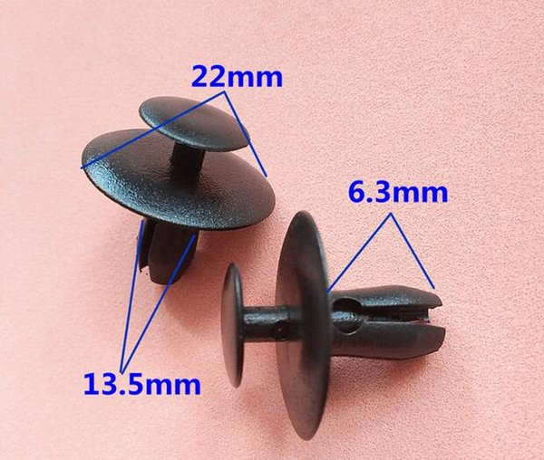 500 pezzi per Peugeot 307 207 206 408 Triumph Sega snap cover isolamento acustico cotone / filtro aria condizionata clip