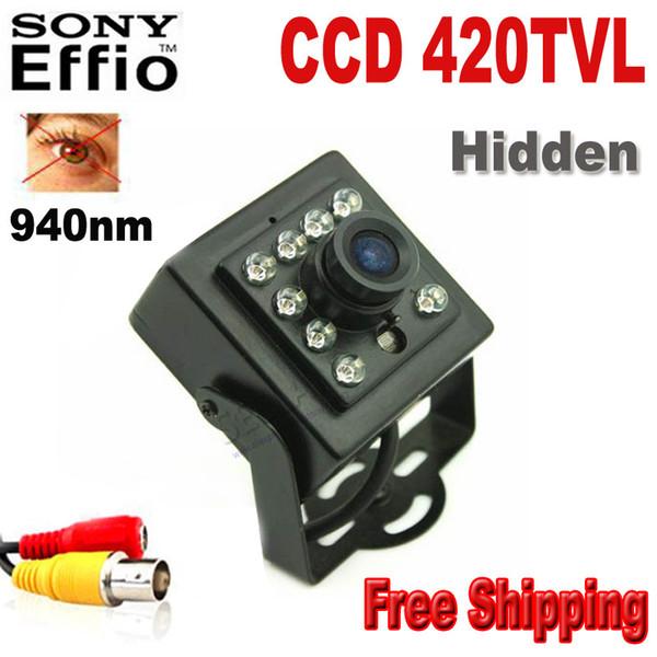 Night Vision Camera 420tvl Sony CCD 10PCS 940nm Led Camera Mini Ccd Camera Covert Audio Night Vision IR Camera Mini Camera