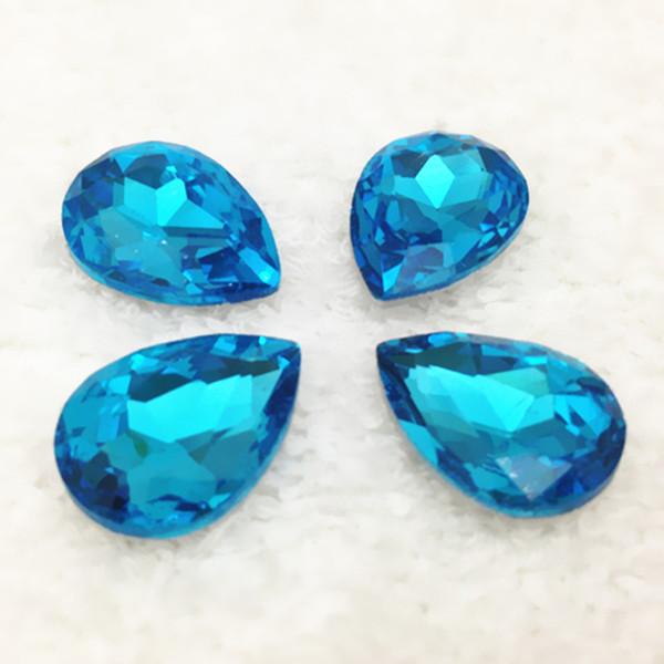 10x14mm 225pcs aquamarine color