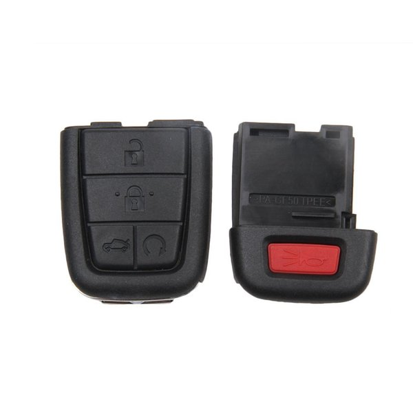 New Keyless Smart 5 Buttons Remote Car Key Shell Case Fob for 2008 2009 Pontiac G8 Replacement No Chip