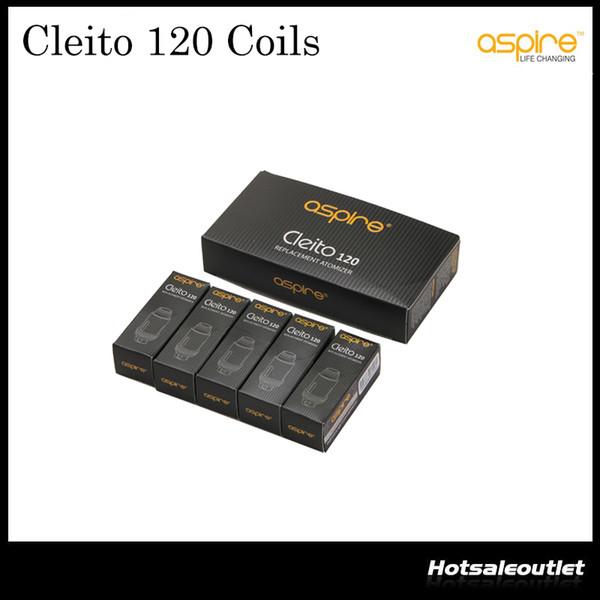 Authentic Aspire Cleito 120 Replacement Coil 0.16ohm Coil for Aspire Cleito 120 EXO Tank E Cigarettes Coil 100% original