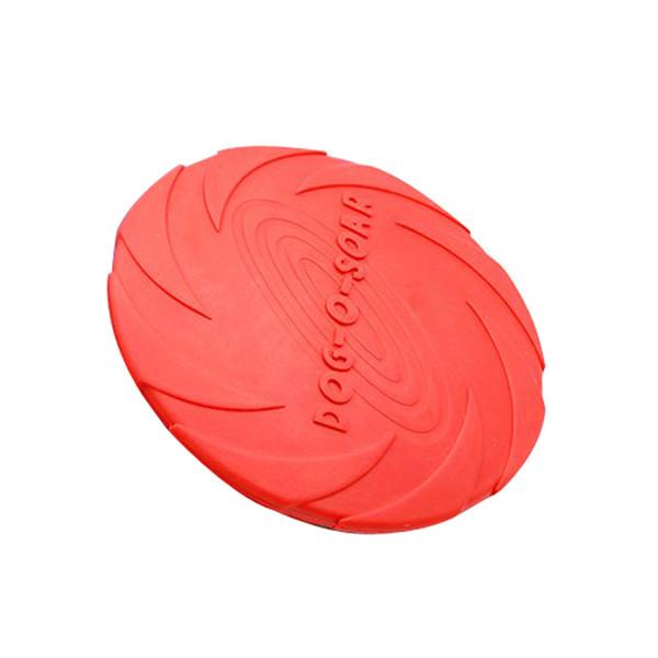 En Plastique Chien De Compagnie Disque Volant Résistant À La Formation Des Fetch Jouet Joue Frisbee Haute Qualité Nouvelle Vente Chaude Chiens Jouets Drôle Balles de Jeu
