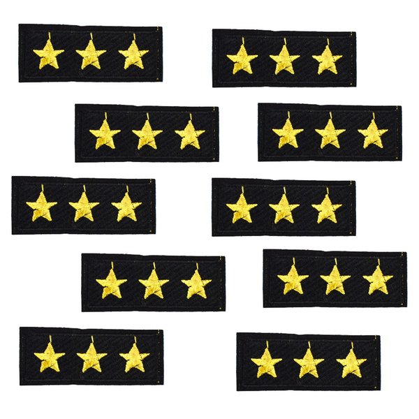 10PCS embroidery badge patches for clothing applique iron on patches sewing supplies accessories badge stickers on clothes iron-on patch DIY