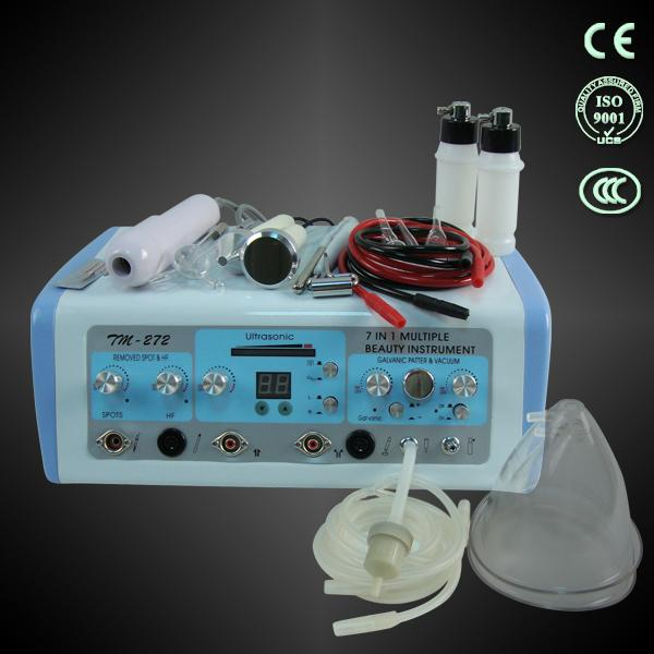 Multifunctional beauty care home use facial Galvanic/Vacuum/Spray/Ultrasonic/High Frequency/spot removal/face beauty products