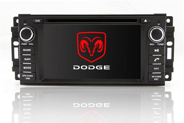 2-Dite Unité Principale Voiture Lecteur DVD pour Dodge Journey Calibre avec GPS Navigation Radio Bluetooth TV USB SD AUX Audio Stéréo Sat Nav