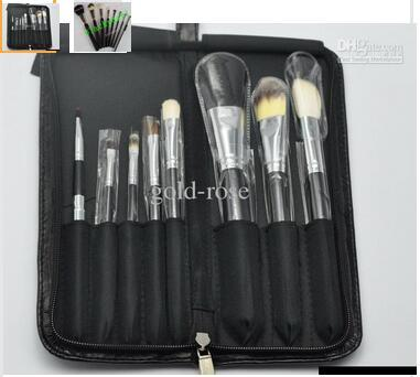 2016 NEW good quality Lowest Best-Selling good sale Makeup Brush 8 pcs Set + Pouch Professional Brush