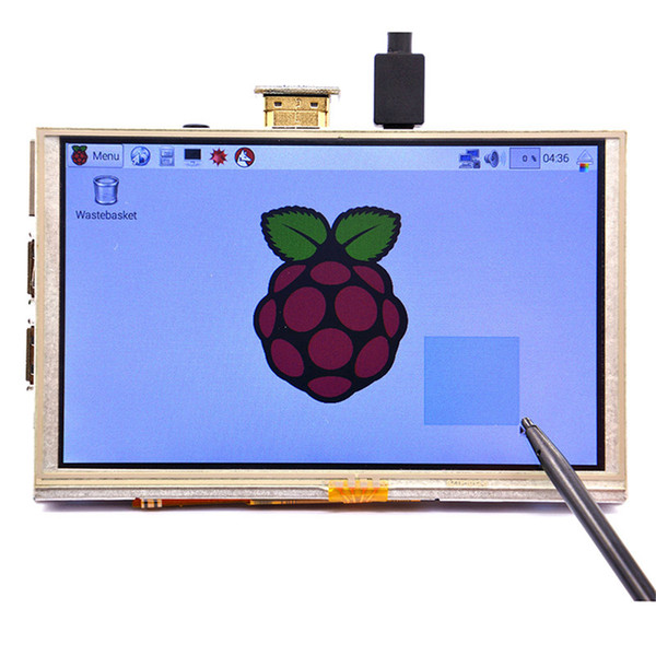 5 inch LCD Touch Screen Display Panel Module HDMI 800*480 for Raspberry Pi 3/A+/B+/2B