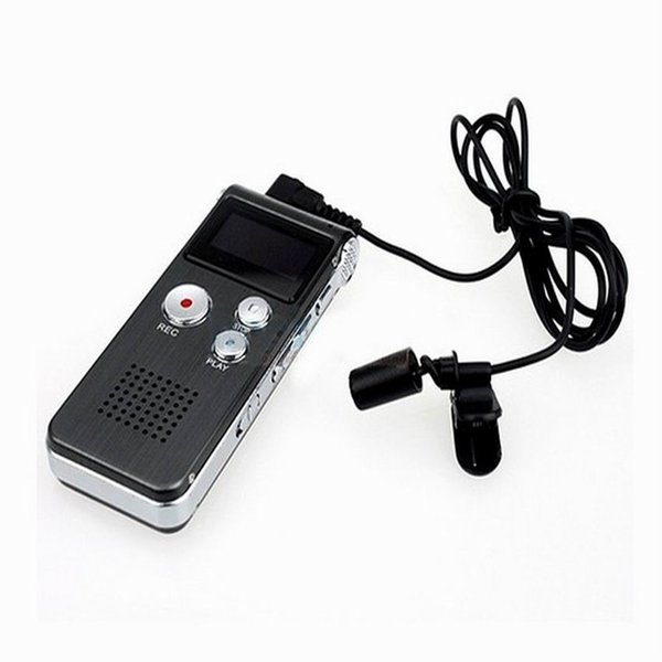 best selling Hot 8GB USB VOR Rechargeable Digital Voice Recorder Metal case Dictaphone 16GB MP3 Player line in audio direct record Telephone recorder