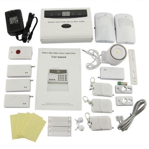 Safearmed TM Home Security Systems Genérico inteligente Sem Fio Sistema de Alarme Home Assaltante DIY Kit com Dial Auto