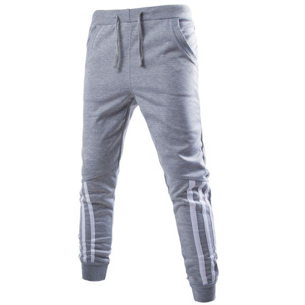 hongzhang / Jugables al por mayor-Mens Nueva moda: Pantalones deportivos del harén casual Pantalones deportivos Pantalones Sarouel Hombres Bottoms para entrenam