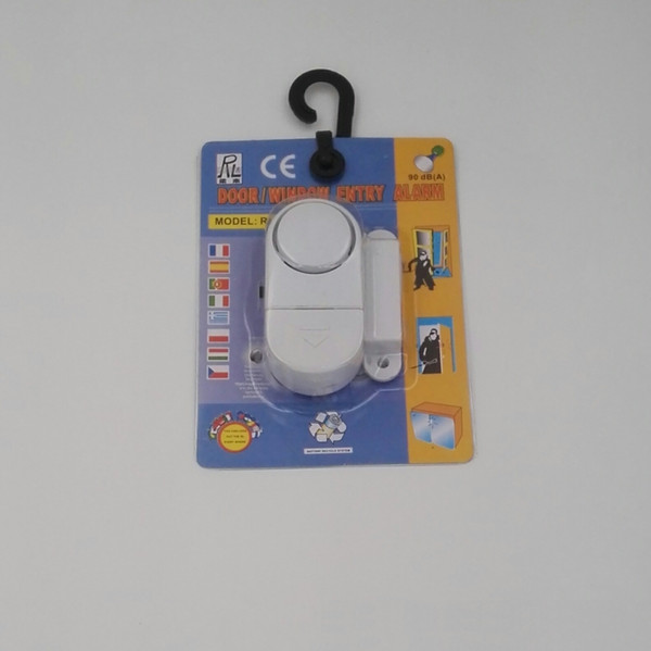Wireless Door Window Sensor Magnetic Switch Home Security Alarm Bell Burglar Warning Safety System RL-9805 Free Shipping