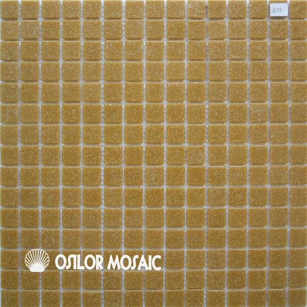684590e44d azulejo de mosaico de vidrio amarillo para azulejos de la pared del baño y  la cocina