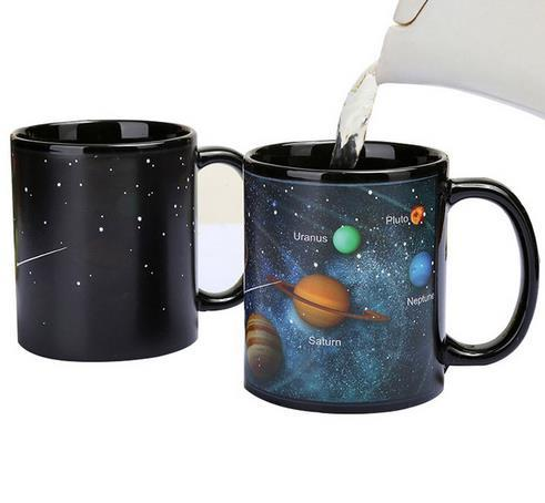 NEW hot selling Heat Changing Constellation Mug Novelty Night Star Ceramic Coffee Cups Kitchen Supplies free shipping