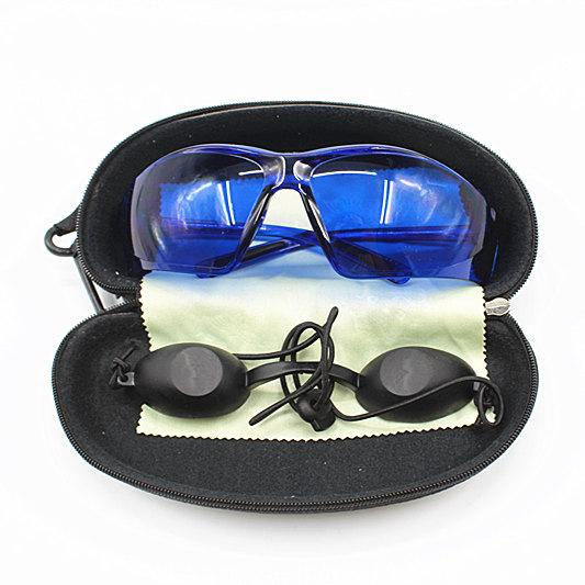 best selling IPL safety glasses eye protection red laser safety goggles Medical Light Patient Protective E light eyecup for OPT Beauty