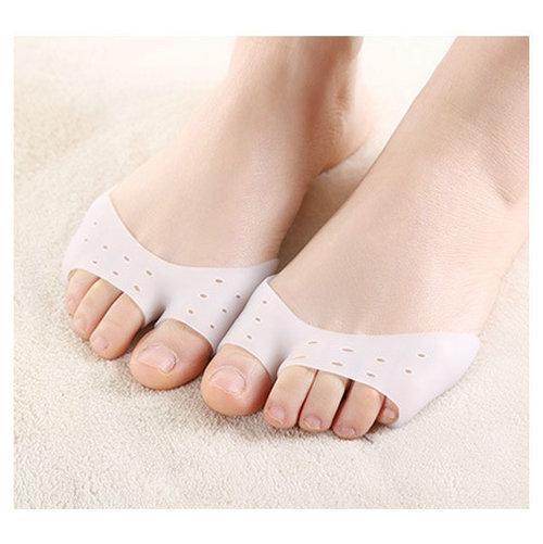 Wholesal 100 pair Ayak tiptoe kılıfları Bale ayakkabıları ayak cap Yüksek topuklar tabanlık Kaymaz Ped Astarı Ayak Bakımı yastık yumuşak silika jel