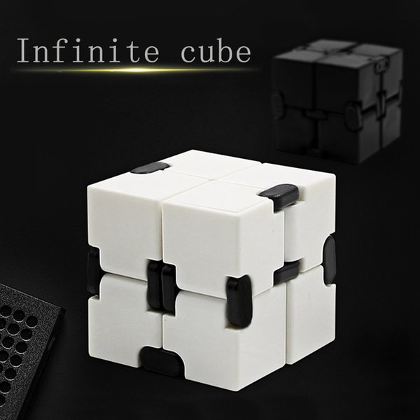 Fidget Novelty Magic Cube Infinity Toys Anti Stress Anxiety Juguete for Office Car Focus Controller Finger Cube Spinner Spiner for Adult