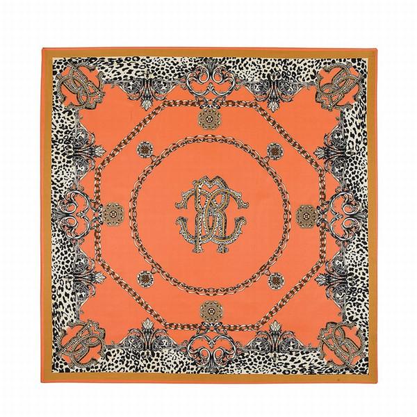60a681b35 Wholesale- 2016 Twill Silk Square Scarf Leooard Belt Tiger Print Big Size  Kerchief Original Design