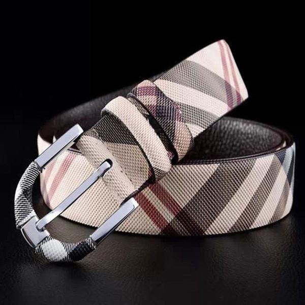 Mode 2016 ceintures de haute qualité pour les hommes ceintures de créateurs de la marque vache véritable luxe ceinture en cuir lettre Or argent ceinture boucle
