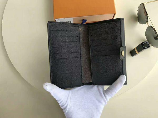 2017 Famous Brand Agenda Pallas Copertura Del Raccoglitore Del Cuoio Genuino Diario con dustbag scatola di carta Nota libri Borse CX # 213 Portafogli M60140 Borse