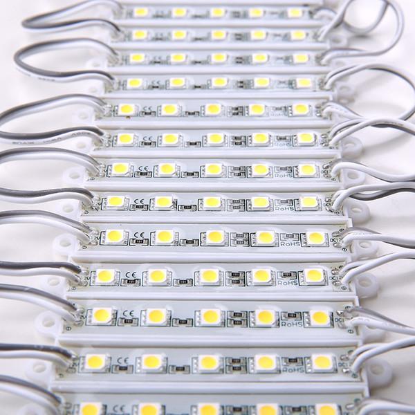 DC12V 5050 5LEDs LED Module Lichter IP65 wasserdicht, LED Zeichen Hintergrundbeleuchtung Module, Werbung Light Box Module, 20PCS / Lot